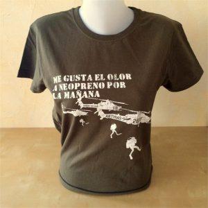Camiseta para buceadores Kilgore Diver. Kaki
