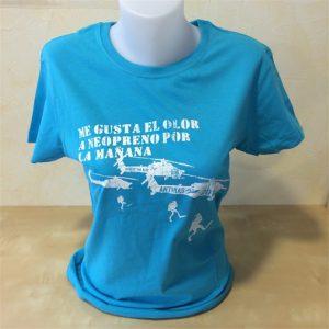 Camiseta para buceadores Kilgore Diver. Turquesa