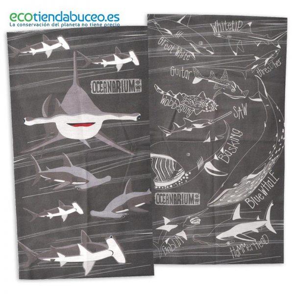 Bandana Tiburón Martillo - ecotiendabuceo Oceanarium