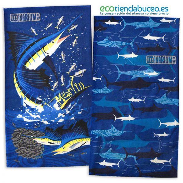 Bandana Marlin Pez Espada - ecotiendabuceo Oceanarium