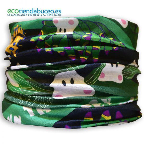 Bandana Nudibranquios - ecotiendabuceo Oceanarium
