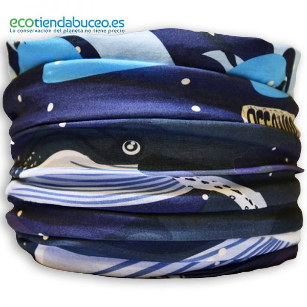 Bandana Ballenas Jorobadas - ecotiendabuceo Oceanarium