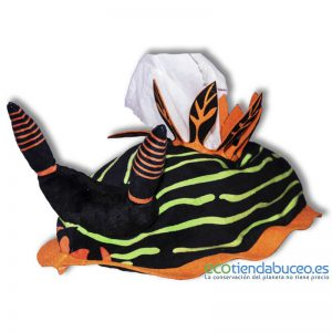 Nembrotha kubaryana - Nudibranquio porta pañuelos tissue box ecotiendabuceo oceanarium