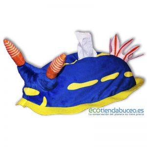 Hypselodoris Festiva - Nudibranquio porta pañuelos tissue box ecotiendabuceo oceanarium