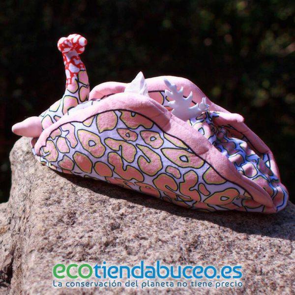 Psychedelic batwing slug - Nudibranquio porta pañuelos tissue box ecotiendabuceo oceanarium
