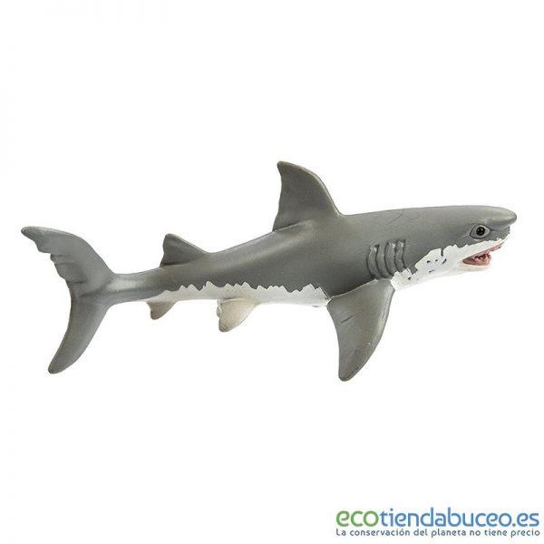 Tiburón blanco de juguete S275029 - Safari Ltd.