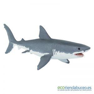 Tiburón Blanco de juguete montessori - Safari Ltd.