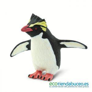 Pingüino Penacho Amarillo de juguete - Safari Ltd.