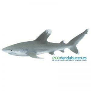 Tiburón Punta Blanca Oceánico de juguete - Safari Ltd.