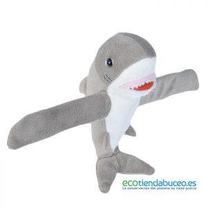 Tiburón Blanco amoroso de Peluche - Wild Republic