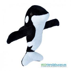 Orca amorosa de Peluche - Wild Republic